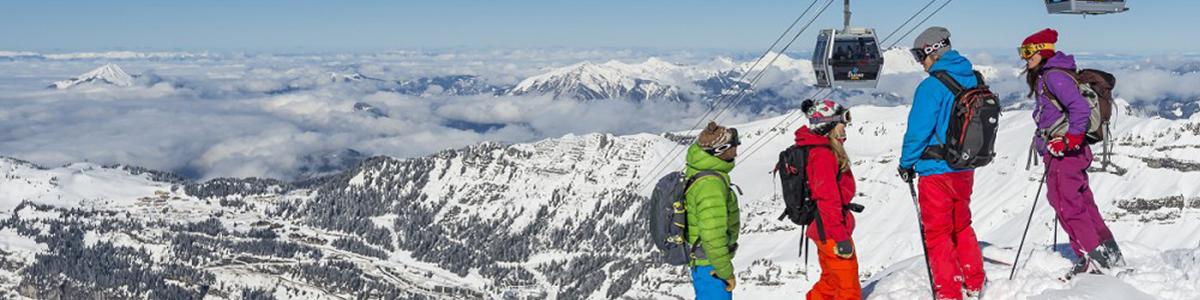 Wintersport paradijs